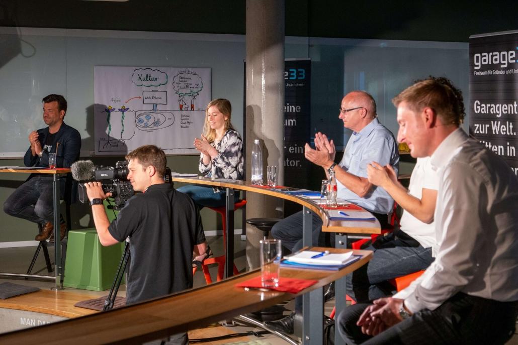 Die Jury beim Call for Ideas 2020