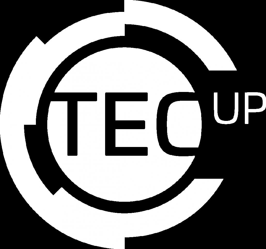 TecUP Logo weiß neu